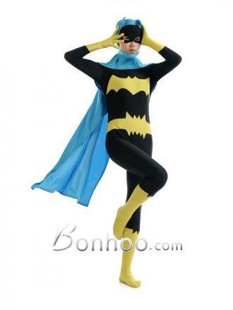 Bat Woman Superhero Zentai Costume With Cape | New superhero costumes on bonhoo.com | Scoop.it