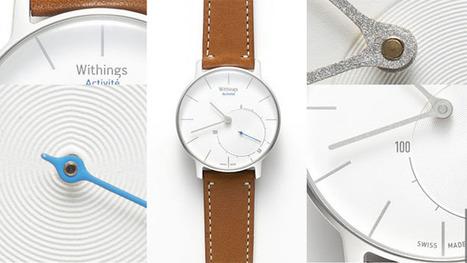 La marque française Withings lance la 1ère montre connectée à aiguilles | Innovations objets connectés | Scoop.it