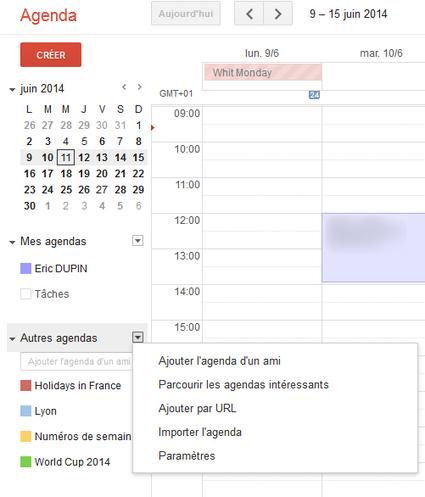 Intégrer le calendrier du Mondial 2014 dans votre calendrier Google | Actualités Web et Réseaux Sociaux | Scoop.it
