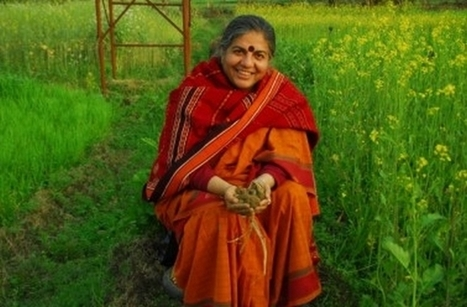 Vandana Shiva : son combat pour la souveraineté alimentaire | ParisBilt | Scoop.it