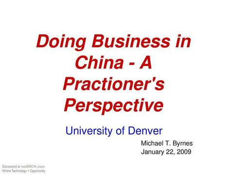 Doing Business in China, Business | Business in China | Scoop.it