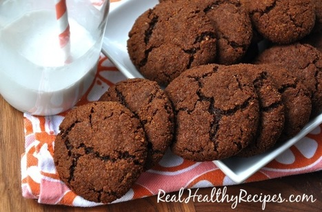 Ginger Snap Cookies | Nutrition & Recipes | Scoop.it
