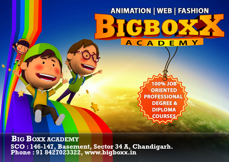 Career in 3d Animation and VFX - Big Boxx Animation Academy | Professional 3d Animation courses in Chandigarh | Big Boxx | Scoop.it