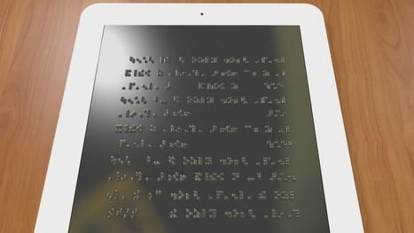 Des chercheurs américains mettent au point une tablette pour aveugles | marketing stratégique du web mobile | Scoop.it