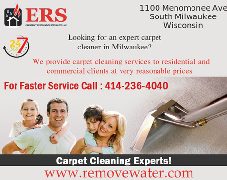 Carpet Cleaning Experts In Milwaukee | Water Damage Restoration | Scoop.it