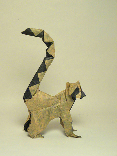 Ringed-tailed lemur | Made with (and of) Paper | Scoop.it