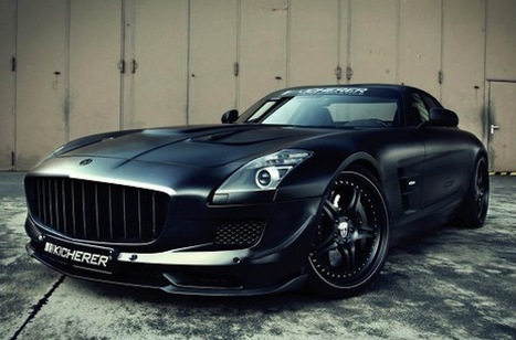 Mercedes-Benz SLS 63 Supercharged GT by Kicherer | Luxury & Technology | Scoop.it