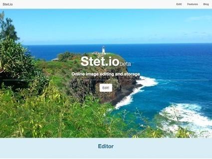 Stet.io, un éditeur de photos en ligne et gratuit | Autour du Web | Outils | Scoop.it