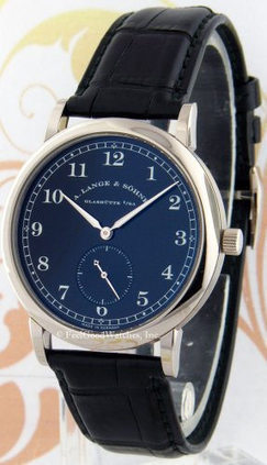 A. Lange & Sohne 206.029 1815, White Gold, Black Dial | Watches | Scoop.it