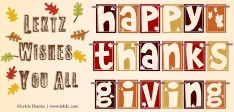 Happy Thanksgiving!!! #LektzThanks | Lektz | Scoop.it