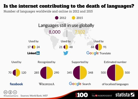 Is the internet contributing to the death of languages? | Co-creation in health | Scoop.it