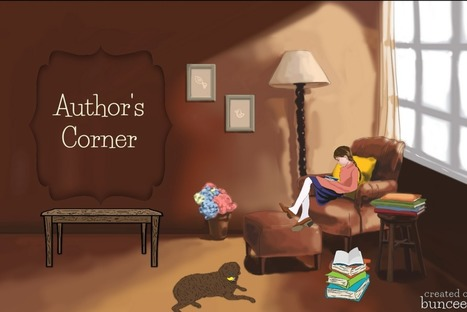 Literacy Learning on the Author's Corner - buncee blog | HCS Learning Commons Newsletter | Scoop.it
