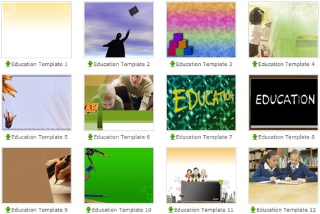 Free PowerPoint templates | Edumathingy | Scoop.it
