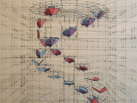 Wildly Detailed Drawings That Combine Math and Butterflies | Social Foraging | Scoop.it