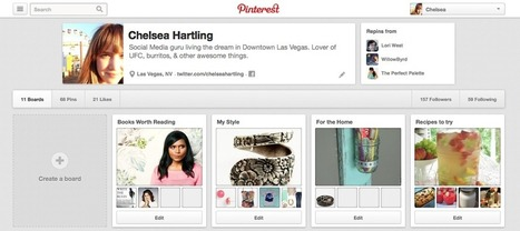 Pretty, Productive Pinning - Digital Royalty | Royal Social Media | Scoop.it
