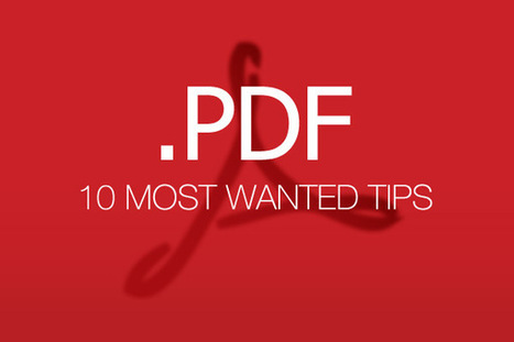 PDF Files: 10 Most-Wanted Tips | Hongkiat.com | Ipads in education | Scoop.it