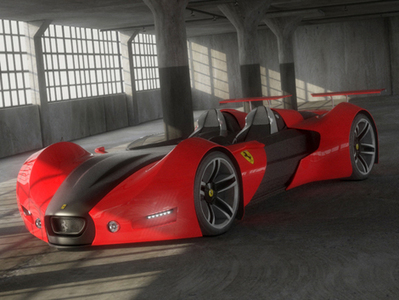Ferrari Celeritas 3D | 3D Library | Scoop.it