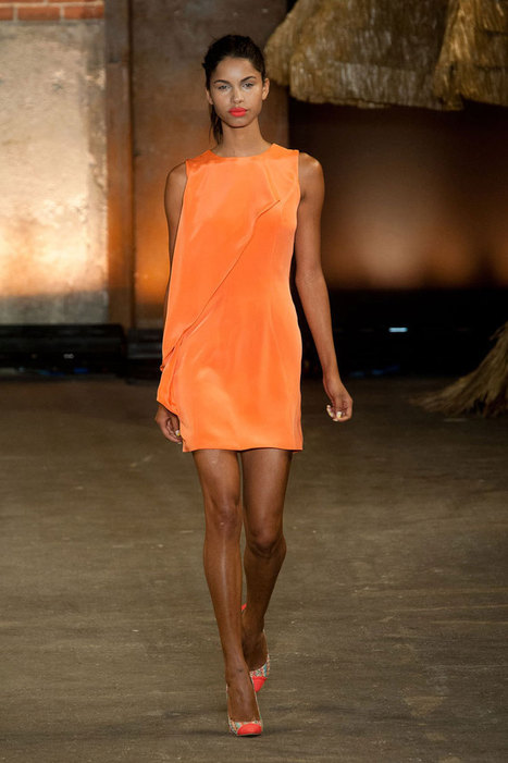 Runway Trend Report: Orange Is the New Black | Teenagers and Technology | Scoop.it