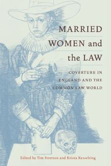 Legal History Blog: New Release: Stretton and Kesselring, eds ... | Domestic Violence | Scoop.it