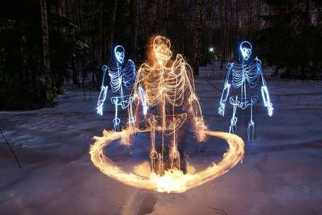 Skeletal Light Paintings | Photography Tips | Scoop.it