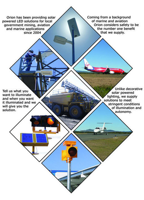 Solar LED Lighting Solutions for Industry | Helipad Light | Scoop.it