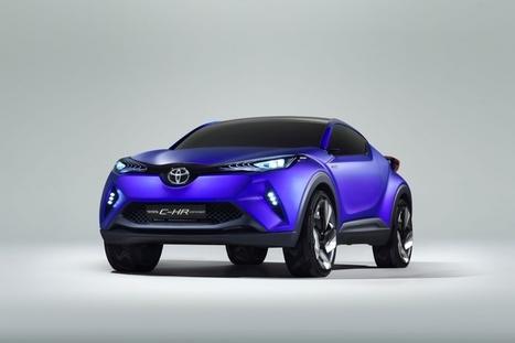 Mondial de l'Automobile de Paris - Toyota C-HR, crossover audacieux | Carrefour | Scoop.it