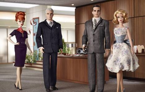 Design: Barbie Loves Mad Men | Ultra Swank | Playscale Picks | Scoop.it