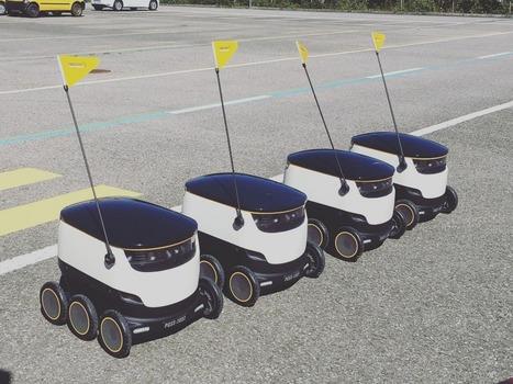 La poste suisse va employer des robots pour distribuer le courrier | Internet du Futur | Scoop.it