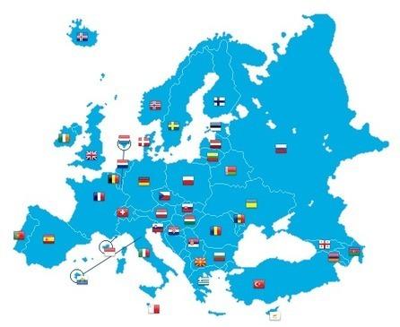 Nations | European Fencing Confederation | Fencing - Scherma - Escrime - Fechten | Scoop.it
