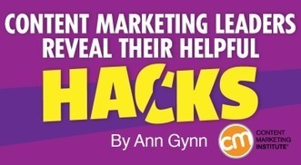 Content Marketing Leaders Reveal Their Helpful Hacks | e-commerce & social media | Scoop.it