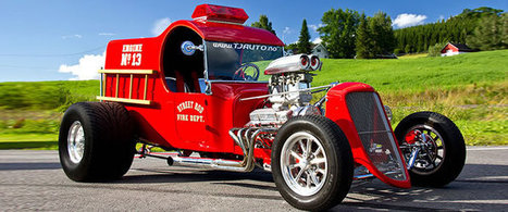 Awesome Hot Rod Fire Truck - Car Of The Day | My Dream Garage | Scoop.it