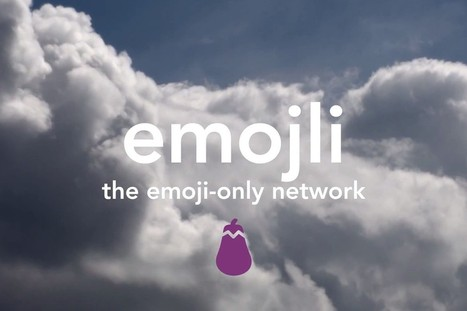 Emojli is the 'world's first emoji-only social network' | Art & Design everywhere | Scoop.it