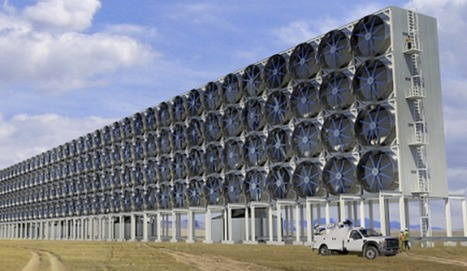 "Can pulling carbon from air make a difference on climate? | ""green business"" 