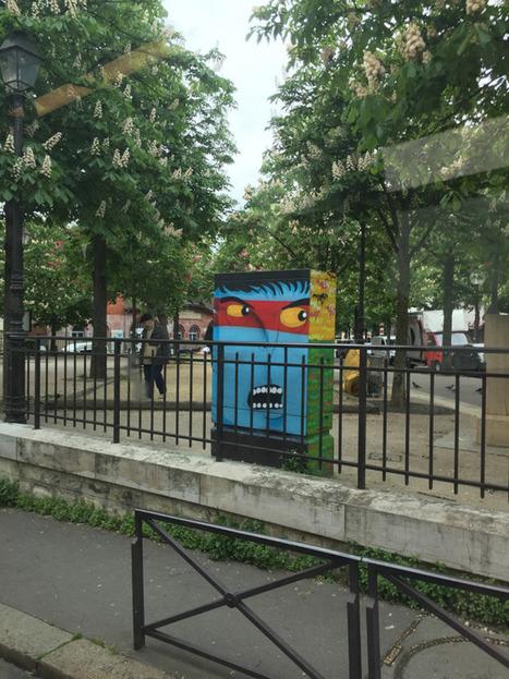 Paris. Le Street-Art est PARTOUT ! Particulièrement dans le XIIIe arrondissement. À découvrir ! #Paris #StreetArt | URBANmedias | Scoop.it