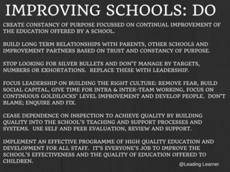 Dear @HarfordSean HMI (via Ofsted), Thank you for asking … | School leadership | Scoop.it