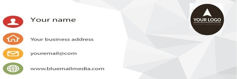 How to Make your Business Card your Top Marketing Tool | Blue Mail Media Inc | Scoop.it