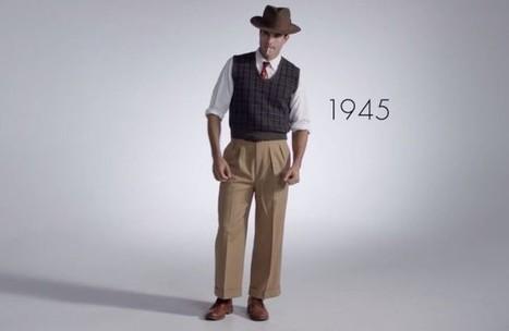 La moda masculina de los últimos 100 años en 3 minutos | GS Consulting - Todo Marketing | Scoop.it