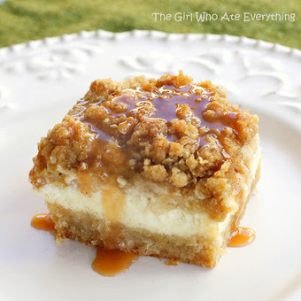 Caramel Apple Cheesecake Bars | Annie Haven | Haven Brand | Scoop.it