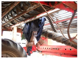Quest 1: Accident Investigation: Worker pulled into rollers of potato harvester | OHS, Accident Forensics and Accident Prevention | Scoop.it