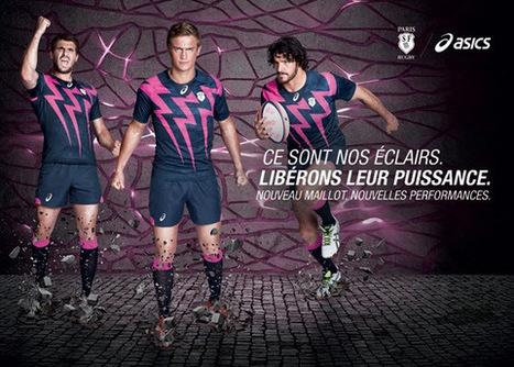 Détails du lancement du maillot du Stade Français par Asics | Sportbusiness | Scoop.it