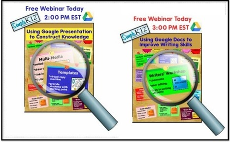 Google Tools for Teachers - Free Webinars on 11/16/13 | Technology and the CCSS | Scoop.it