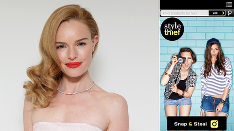 Kate Bosworth Launches New App Trying to Be the 'Shazam of Fashion' | fashion forward | Scoop.it