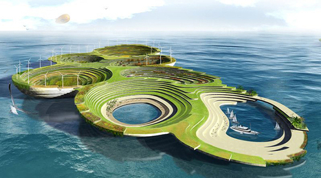 Innovative Design Proposes a Self-Sustaining Floating City | Le It e Amo ✪ | Scoop.it