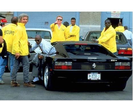 Throwback Thursday: Michael Jordan Uses His Ferrari and a Cigar as Intimidation   Ferrari Journal   Scoop.it