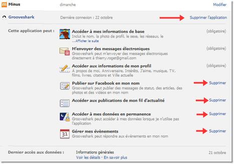 Comment supprimez les applications qui ont accès au comptes twitter, facebook et google? | Technologie Au Quotidien | Scoop.it