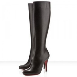 Christian Louboutin For Sale,CHeap Red Bottoms Sale,Red Bottoms,Red Bottoms Sale,Red Bottoms Bourge 100mm Boots Black | Red Bottom Shoes | Scoop.it