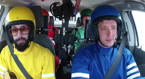 OK Go Music Video Features Over 1,000 Musical Instruments Hit By A Moving Vehicle | Inspiration | Scoop.it