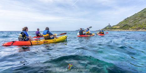 Ajaccio en Córcega vista desde un kayak de mar   mochilero   Scoop.it