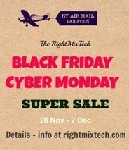 Black Friday Cyber Monday Super Sale from RightMixTech | Small Business | Scoop.it