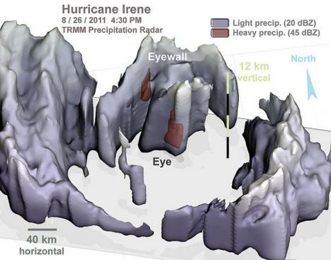 Irene's Punishing Rains Seen in 3-D | Geography Education | Scoop.it